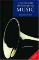 The Oxford Dictionary of Music -- Bok 9780198614593