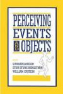 Perceiving Events and Objects -- Bok 9781138978140