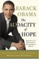 The Audacity of Hope: Thoughts on Reclaiming the American Dream -- Bok 9780307237699