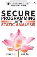 Secure Programming with Static Analysis -- Bok 9780321520357