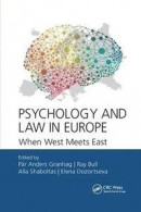 Psychology and Law in Europe -- Bok 9780367889937