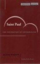 Saint Paul: The Foundation of Universalism (Cultural Memory in the Present) -- Bok 9780804744713