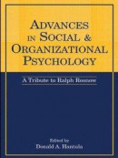 Advances in Social and Organizational Psychology -- Bok 9781135600693